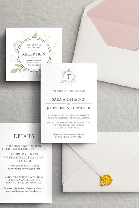 Blush & Greenery Wedding Suite