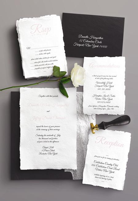 Wedding Suite Black & Silver