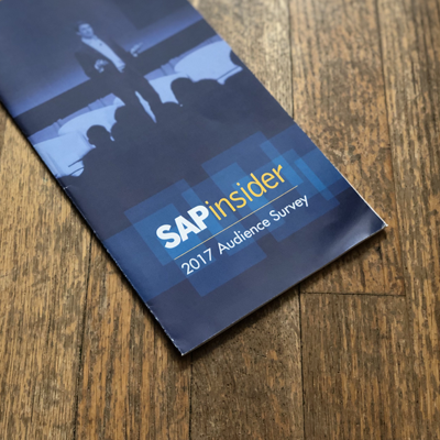 SAPinsider Audience Survey Brochure