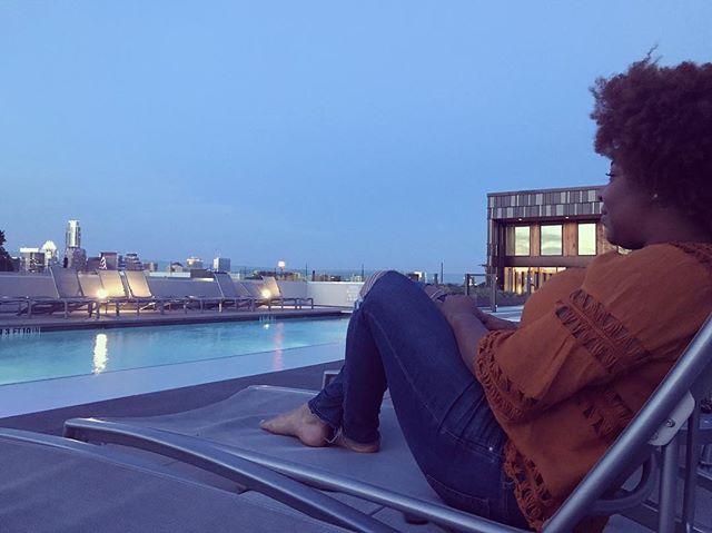 Catching the Austin sunset. #downtownaustin #austinvibes