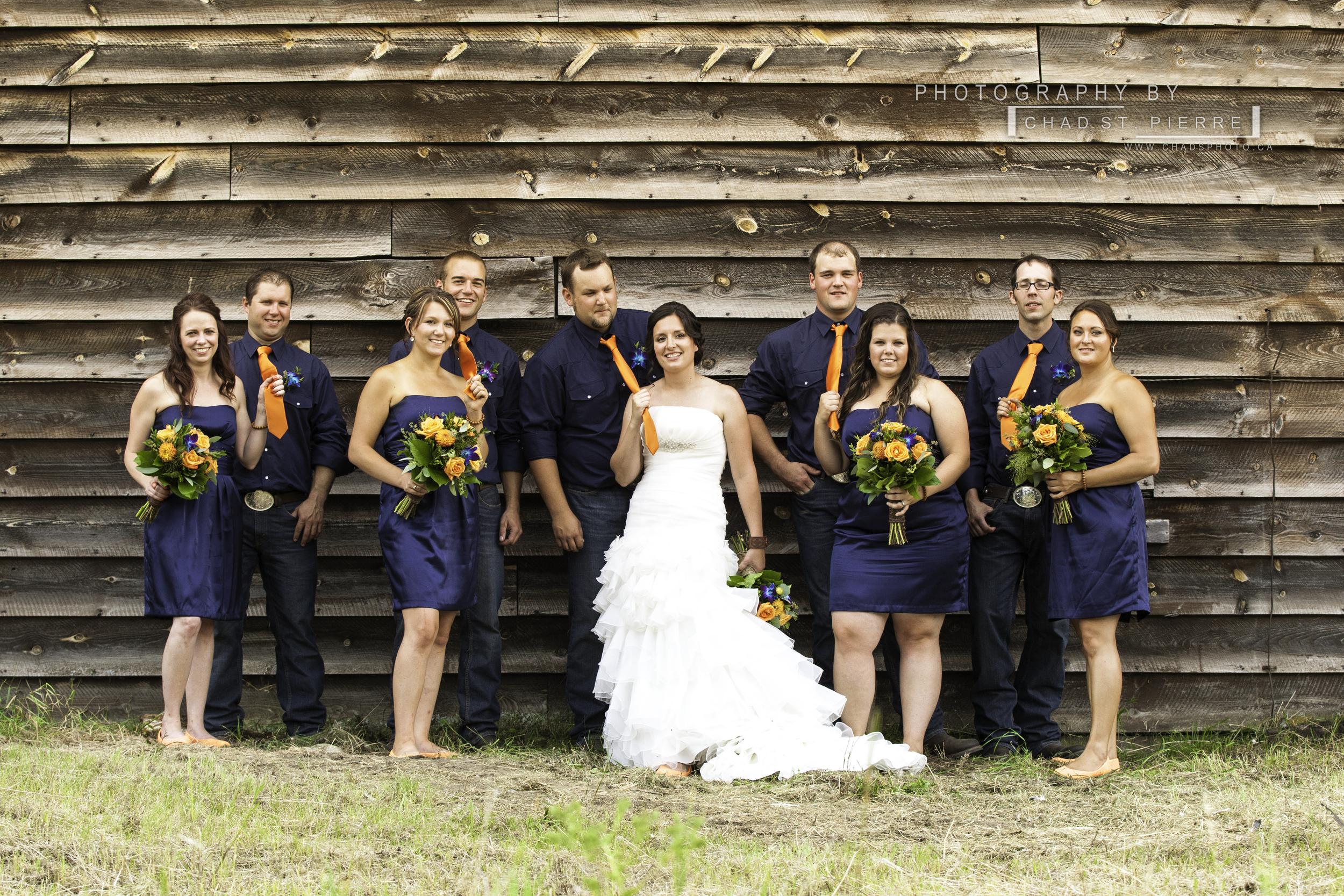 Brett and Amanda Larsen - Wedding 2013