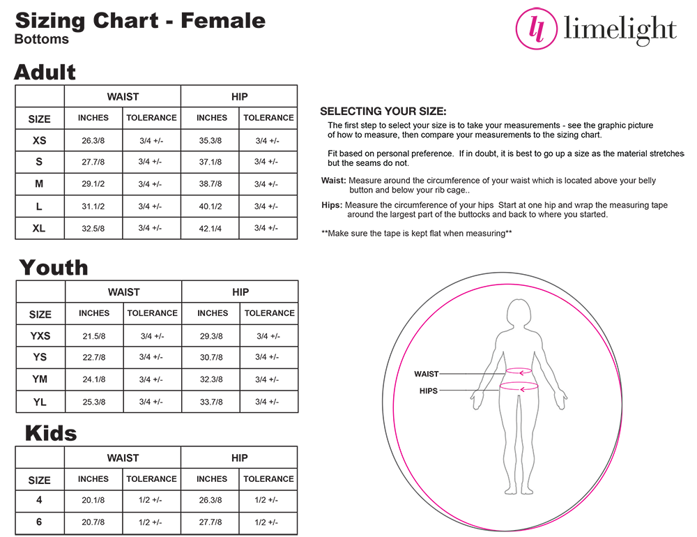 LEGGINGS SIZING - CLICK IMAGE TO EXPAND