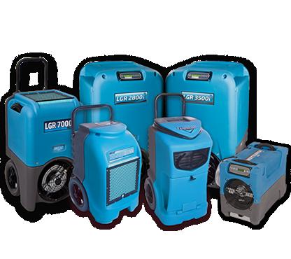 LGR dehumidification equipment.