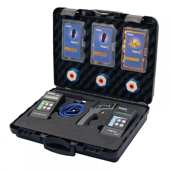 Tramex digital moisture detection equipment