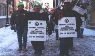 Harris days of protest