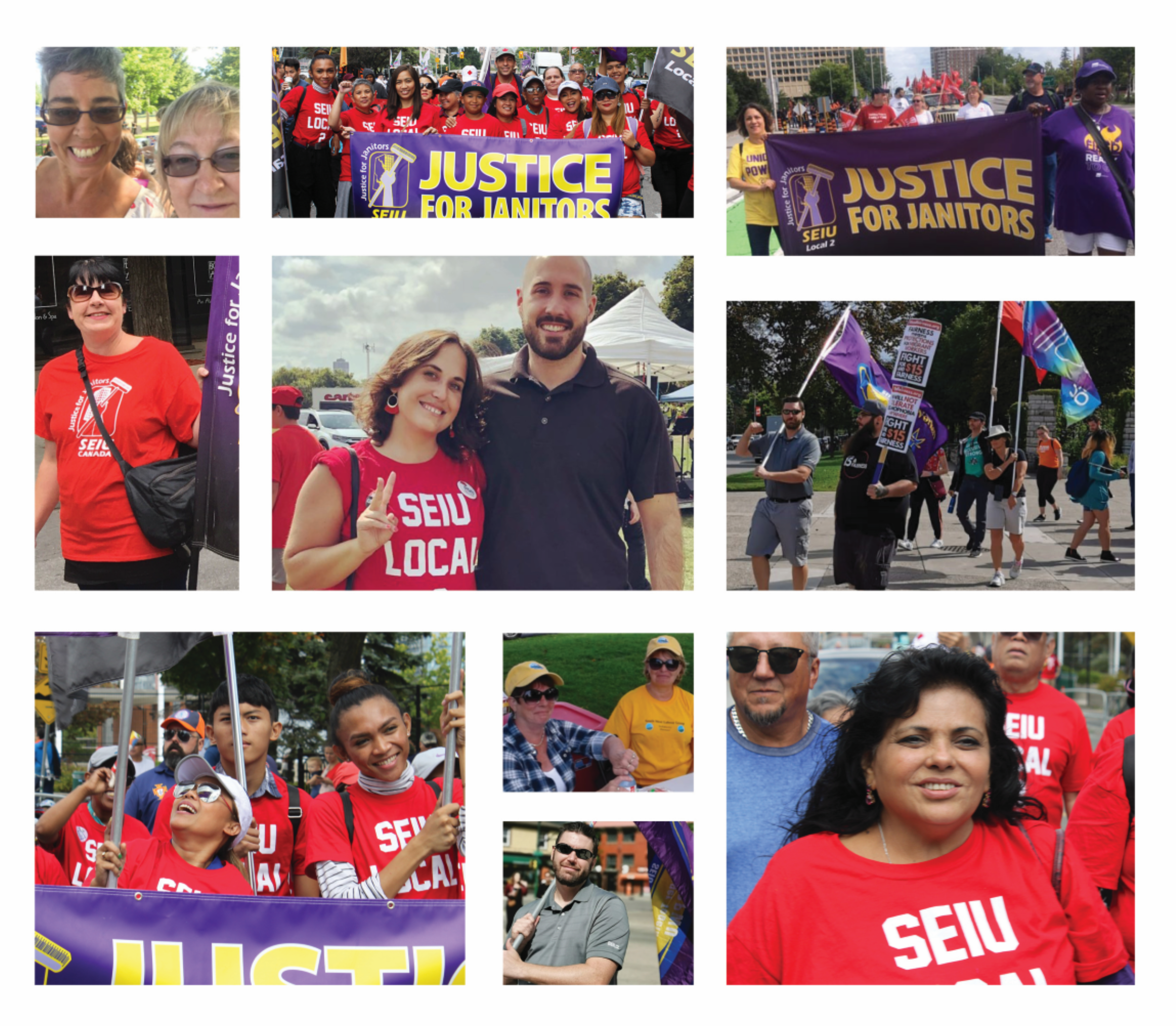 Hundreds of SEIU Local 2 members participated in Labour Day activities, including in Ottawa, Toronto, Hamilton, London and across Nova Scotia!
