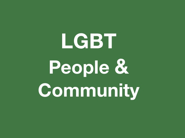 Erich Keller Counselling LGBT, Community