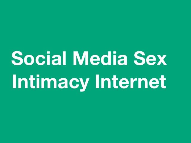 Erich Keller Counselling Social Media Sex Intimacy Internet