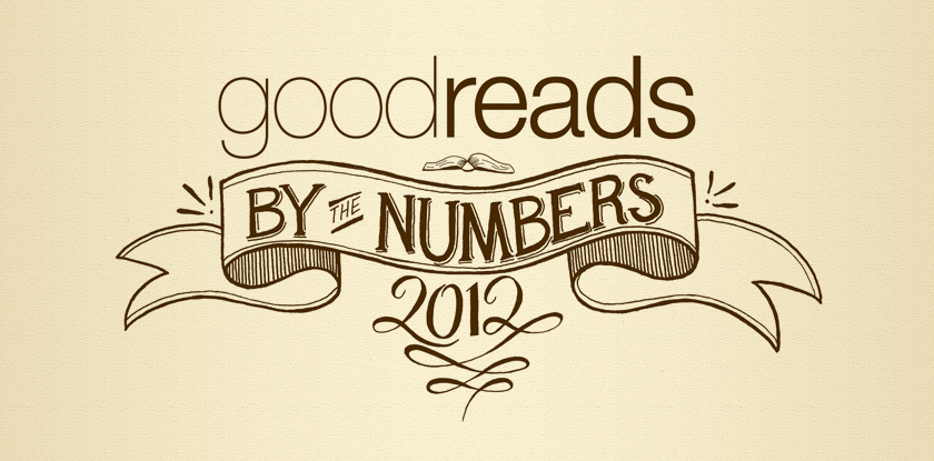 Goodreads by the Numbers: 2012  Banner created for Infographic