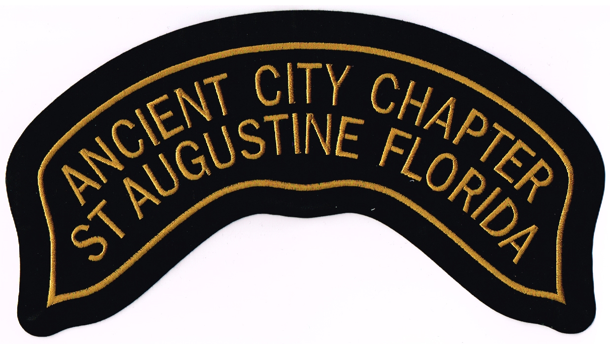 Small Chapter patch ~ $9.00
