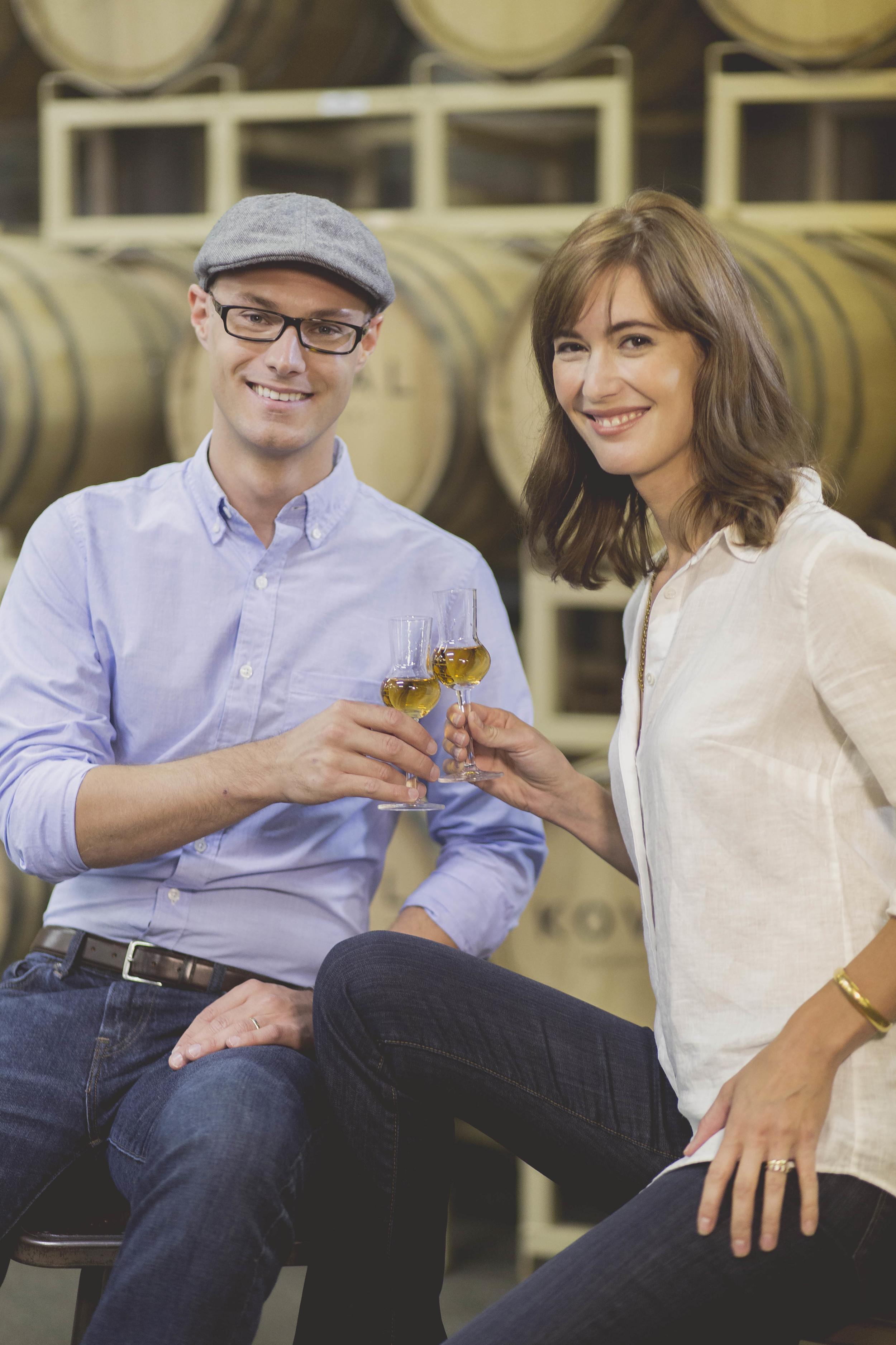 Robert & Sonat Birnecker, Founders of KOVAL Distillery