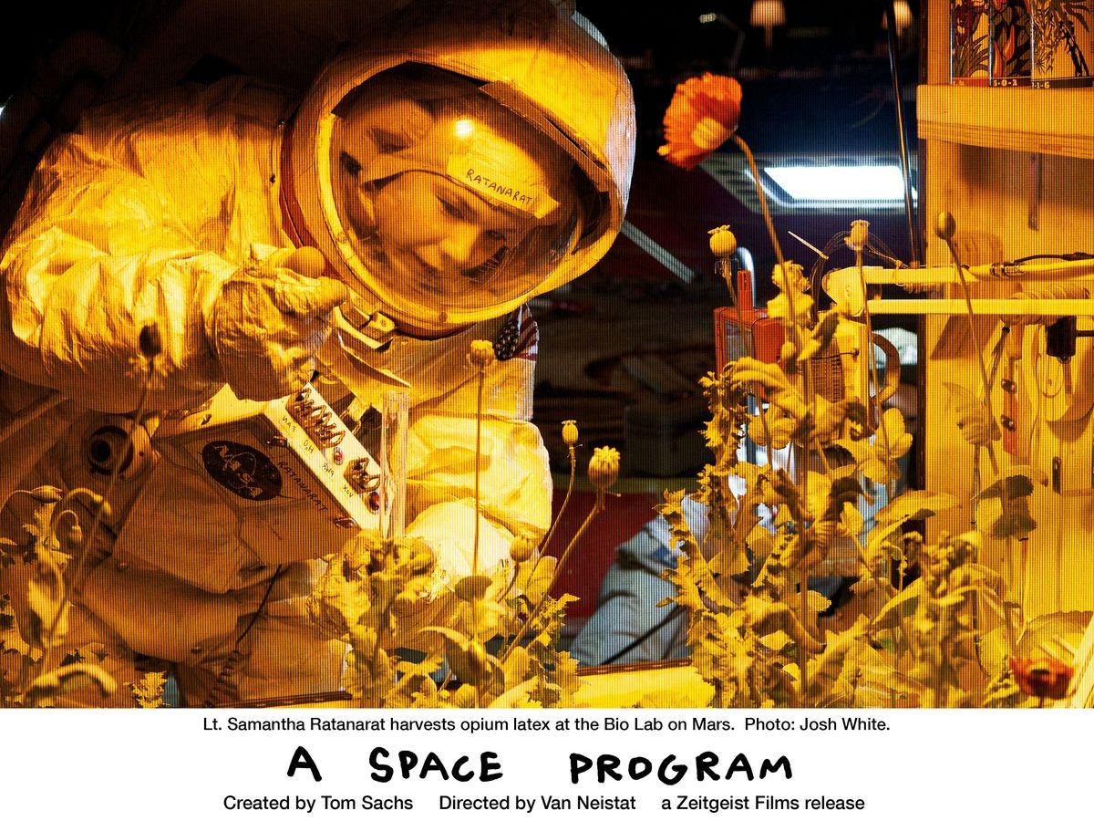 Tom Sachs Presents: A Space Program (DCP)