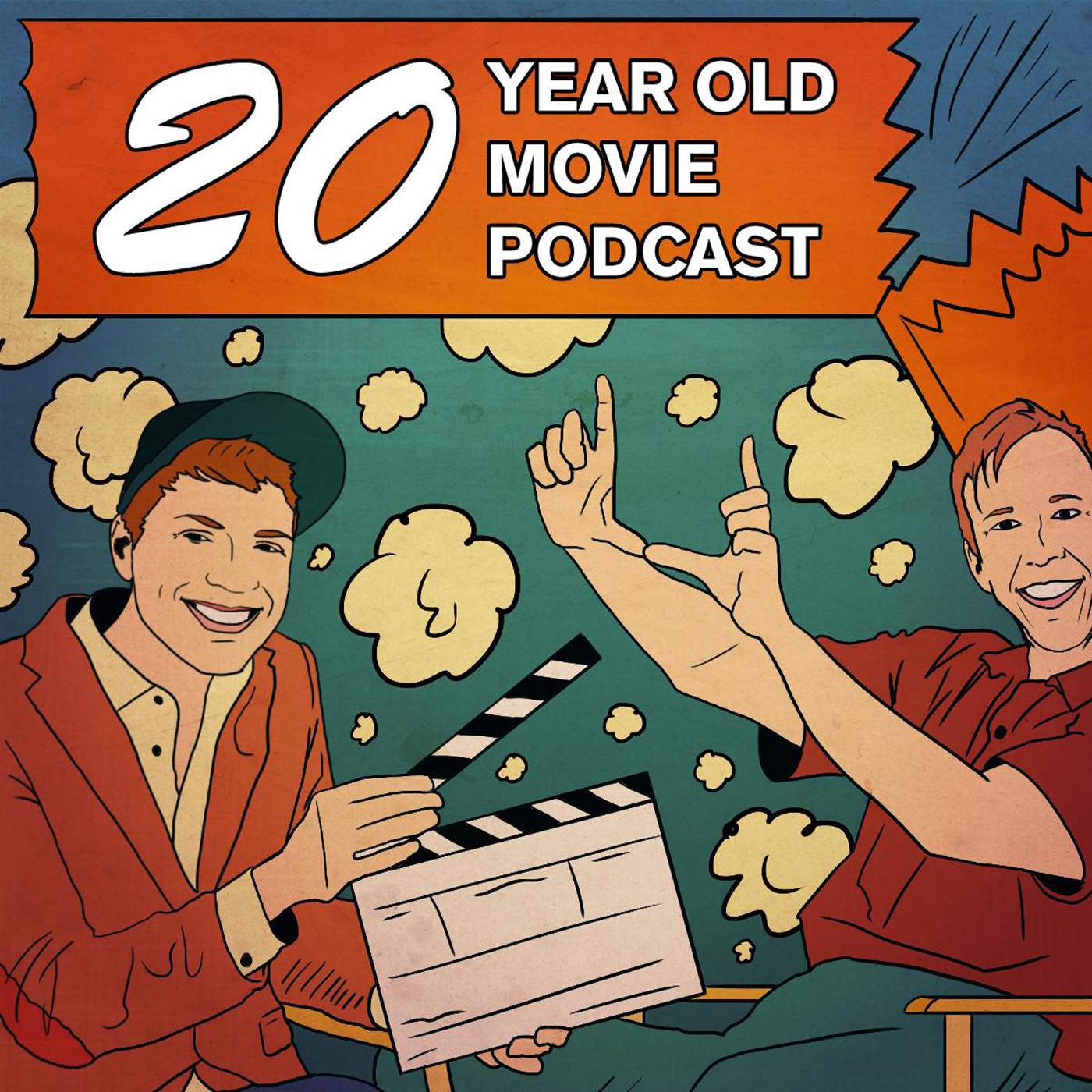 20 Year Old Movie - Comedians Matt Anderson and Joel Walkowski host their friends to watch a movie from 20 years ago. Kinda like you're sitting down with 2 or 3 of your best friends. We're gonna chat about the actors, the directors, the amazing scenes, and we're also going to talk about some other junk too. New Episodes every Tuesday.http://20yearoldmovie.libsyn.com/