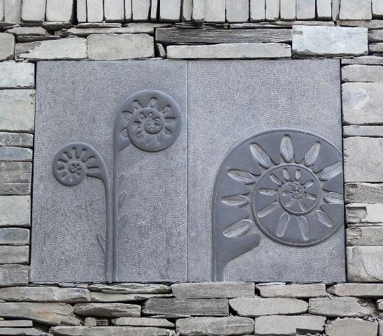 Ysbytty Alltwen. Panel Carving 3