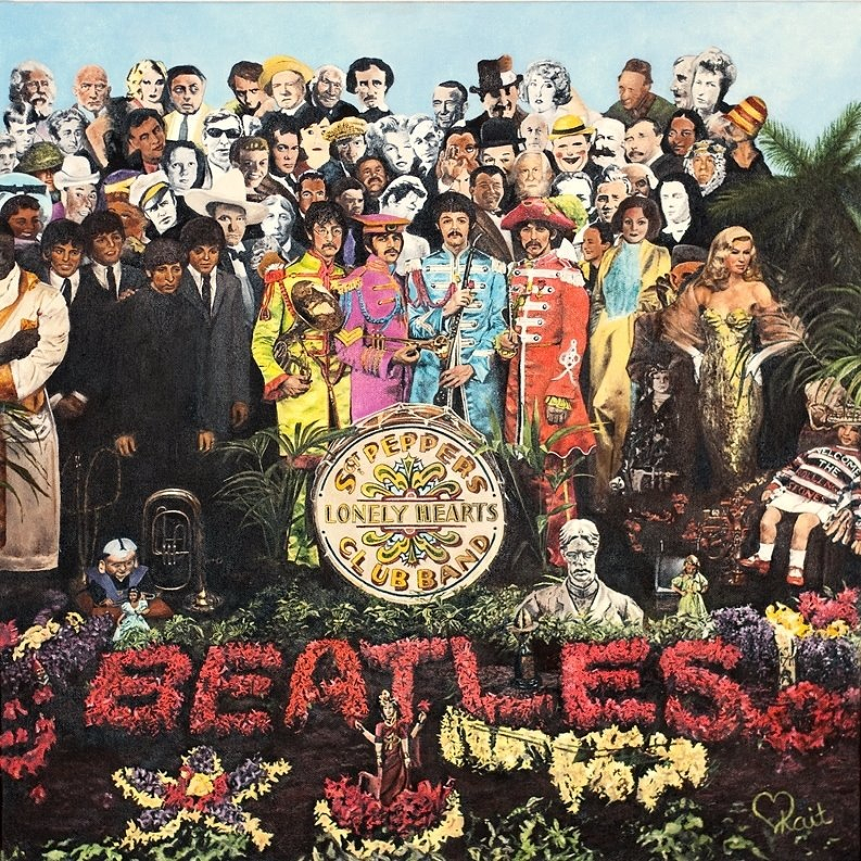 """The Final Sgt. Pepper's Lonely Hearts Club Band """" Painting"""