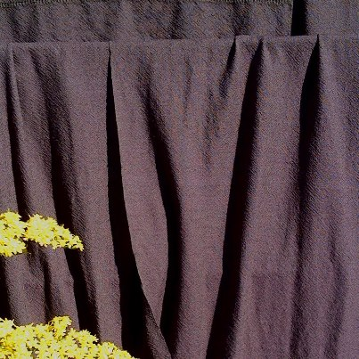 Brown wool on brown wool