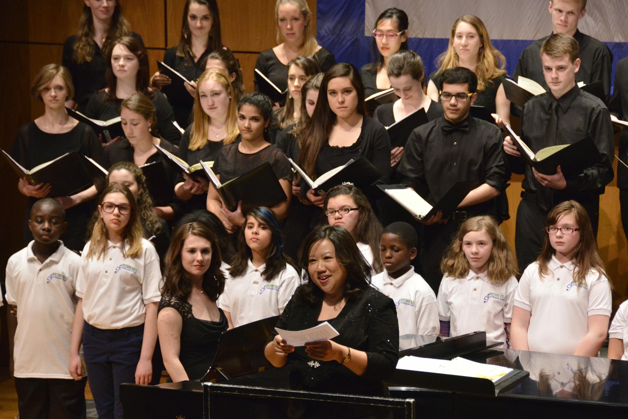 Ubi Caritas with Nathan Hale Arts Magnet School Children's Chorus