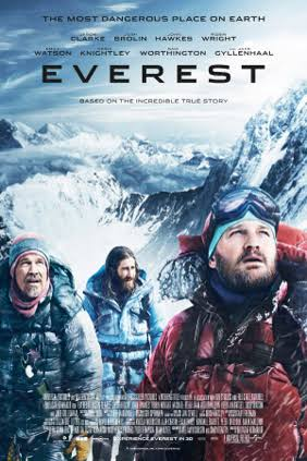 Current feature movie in Australian cinemas - Everest