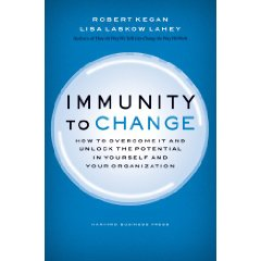 The book is a great introduction to the Immunity Map which will uncover what prevents you from changing.