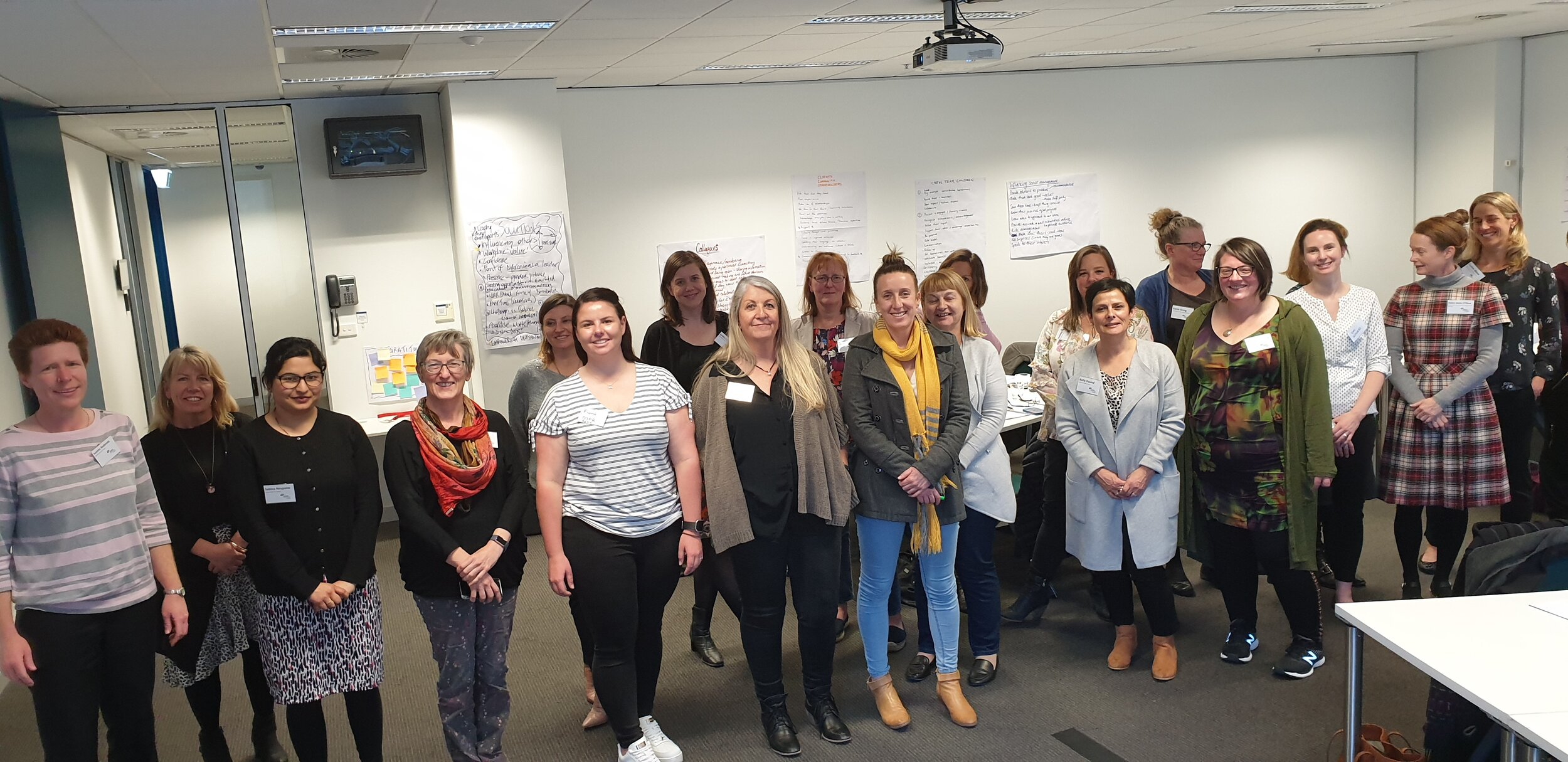 My most recent group of awesome women from the Victorian Public Sector who participated on The Female Factor.