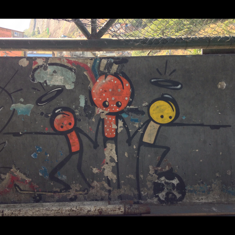 In the Rocinha neighborhood