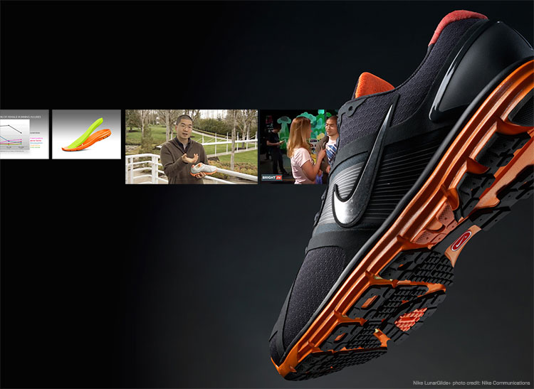 """The fundamental insight that enabled the success of the original Nike LunarGlide+ was the outgrowth of countless hours of engagement with our target runner. As an aside, I mention in the accompanying piece that the product manager's primary deliverable is a brief, but that is by no means his or her only responsibility. For example, as the frames above depicting me in """"talking head"""" mode illustrate, the product manager must serve as the evangelist-in-chief for their product, both inside their organization and out."""