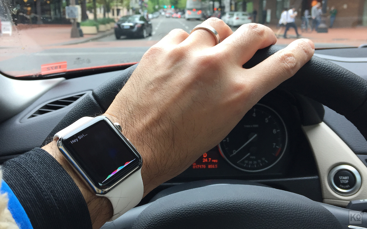 While I didn't have a chance to mention it in the body of my review, Siri seems to be more accurate and effective when invoked via my Watch versus my iPhone 6 Plus. I rarely use Siri on my phone, but find myself using the service multiple times a day on my Watch to do things like set timers, play music and dictate text messages.