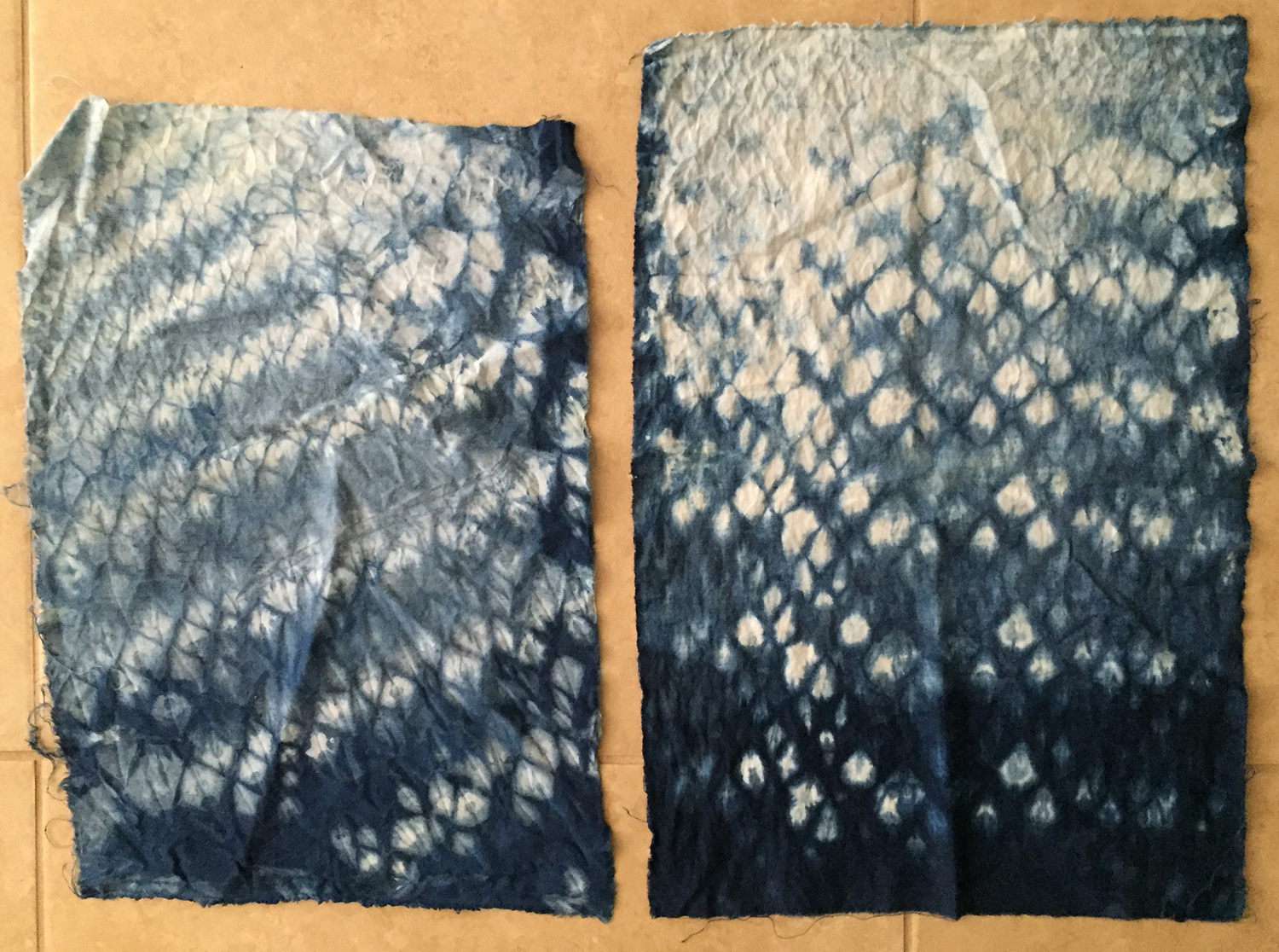 Honeycomb Shibori Tutorial Rouse House Design