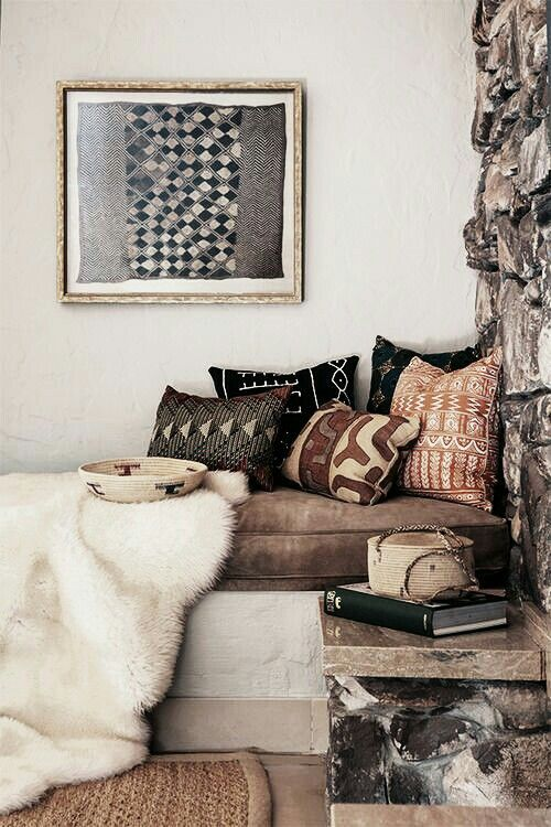 An Introduction To The Myriad Of African Textiles - http://www.modedeville.com/deco/deco-ambiance-ethnique/