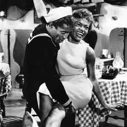 Eartha Kitt & Sammy Davis Jr. in one of my favorite movies,  Anna Lucasta .