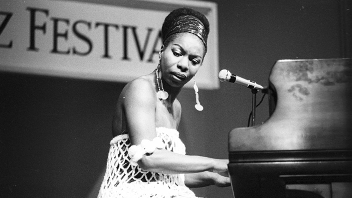 Nina Simone. What can I say? As a little black girl pianist also from North Carolina, Nina represented everything I aspire to be. Limitlessly talented on the piano and an amazing singer/songwriter. Courageous, fearless and style icon. She's everything to me!