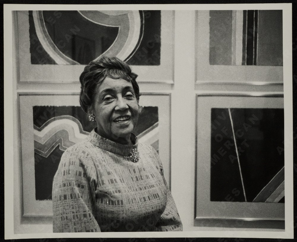 Alma Woodsey Thomas was an African-American Expressionist painter and art educator. She lived and worked primarily in Washington, D.C. and the Washington Post described her as a force in the Washington Color School.