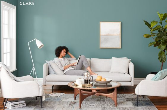 Christina Lane styles new Clare Paint collection