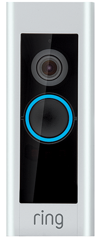Ring 1080P HD Wi-Fi Video Wired Smart Door Bell Pro Camera, Smart Home, Works with Google and Alexa
