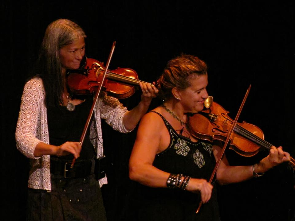 Linda & Sharon at Ormond Beach Performing Arts Center 2012.jpg