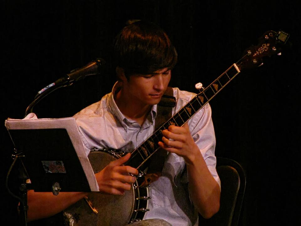 Jacob Butler on Banjo at Ormond Beach Performing Arts Center 2012.jpg