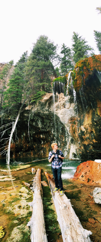 Aaron Hocher, Hanging Lake, 3.12.15