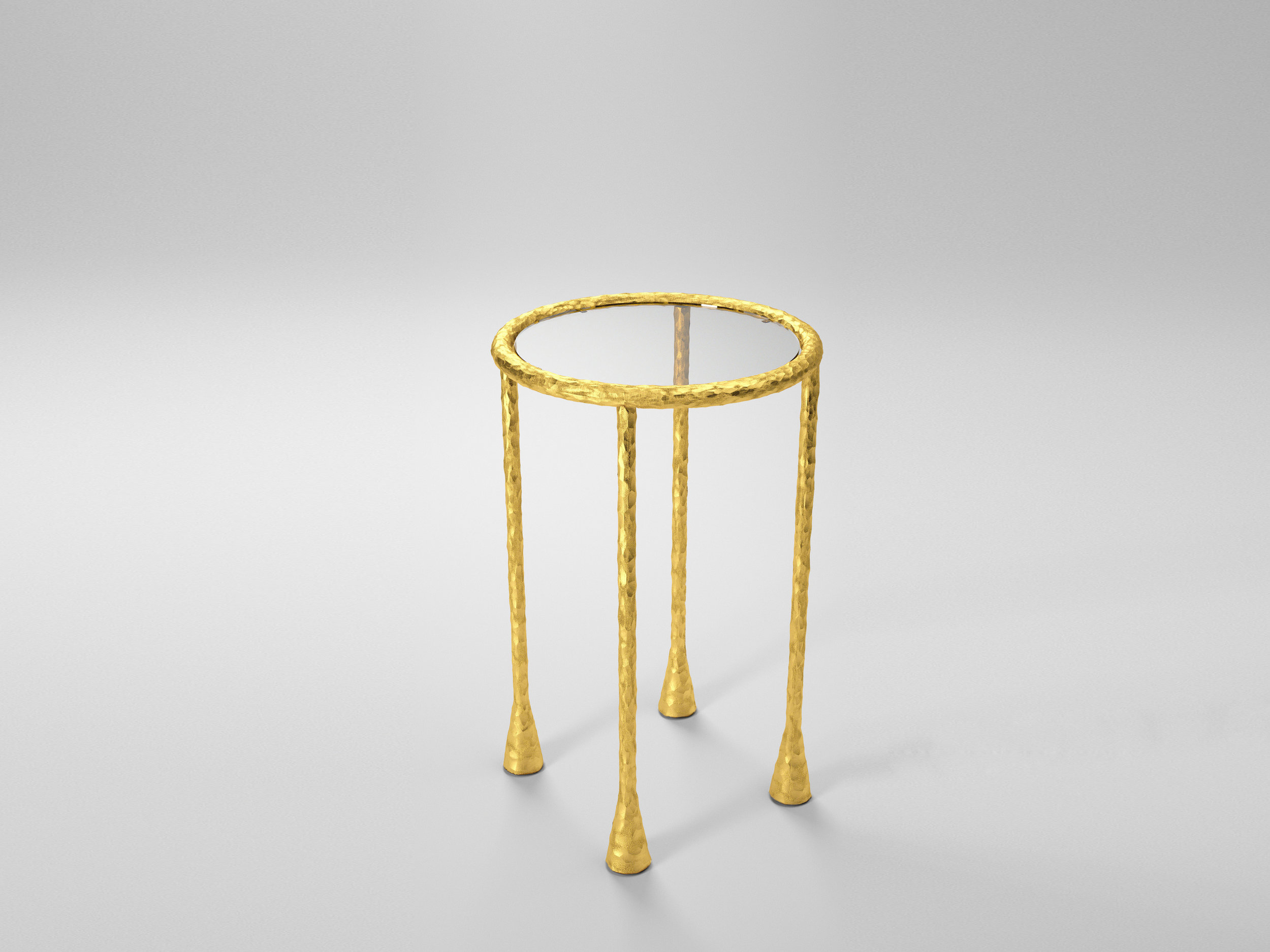 gild side table