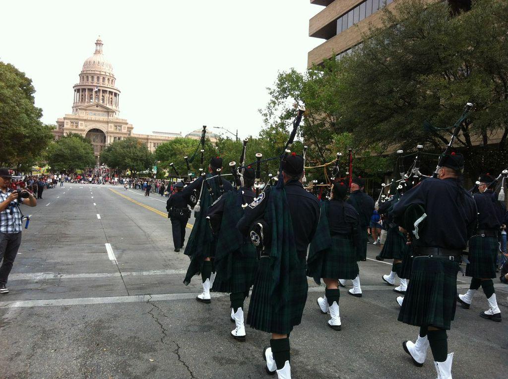 Veteran's Day Parade in Austin, TX '12