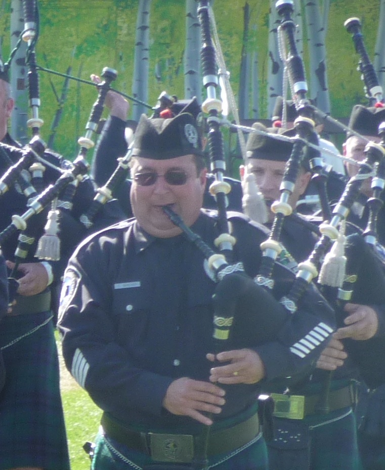 Pipe Major Todd Bircher