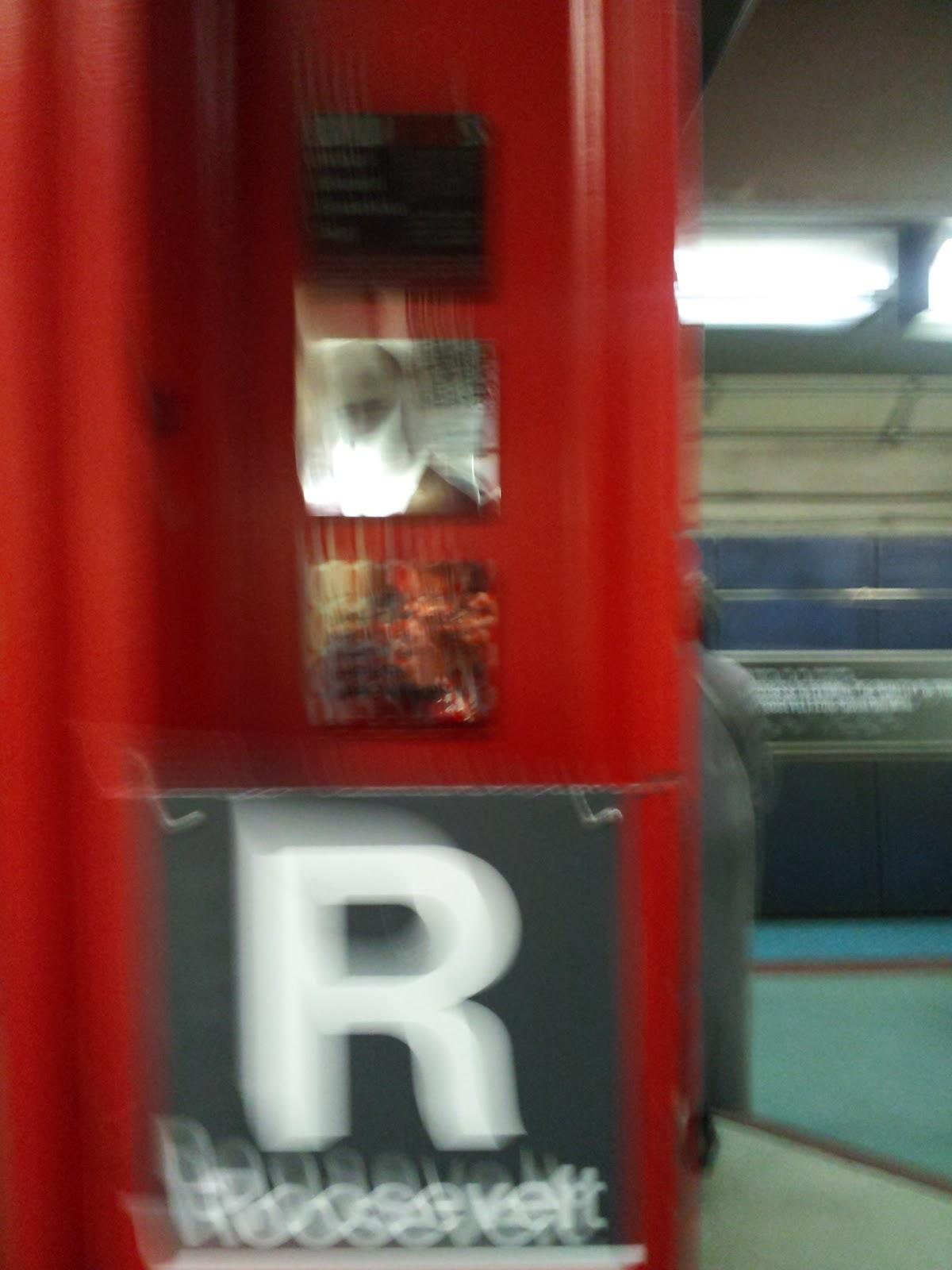 CTA Roosevelt Station Red Line