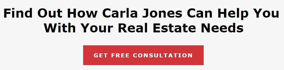 Call to action for Carla Jones Real Estate