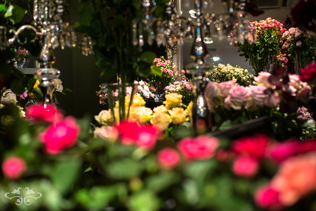 More than 60 different varieties of Roses were exhibited at Neill Strain's The Flower Lounge