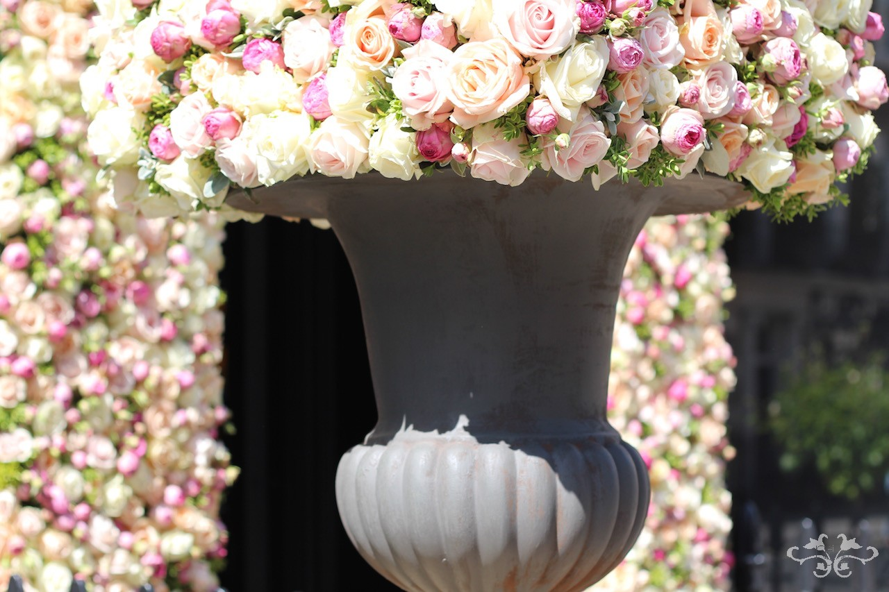 Floral design in Belgravia