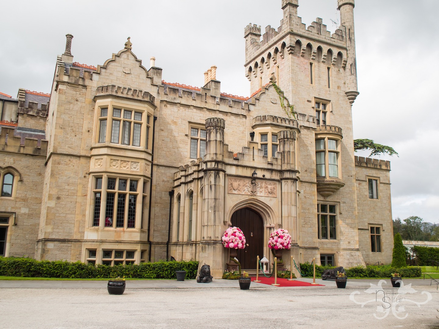 Lough Eske Castle in Ireland. The perfect setting for a fairytale wedding.