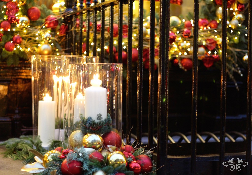 Christmas has arrived at Neill Strain Floral Couture in Belgravia