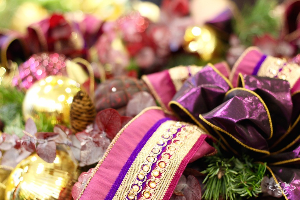Neill Strain magenta ribbon Christmas.jpg