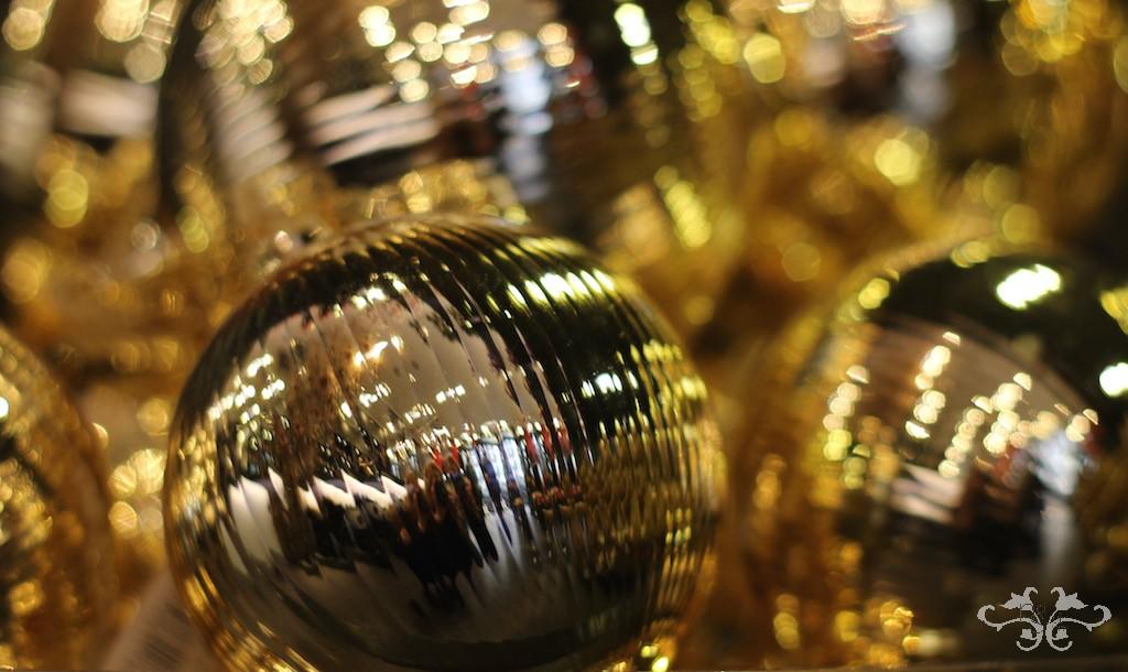 Neill Strain gold baubles for Christmas.jpg