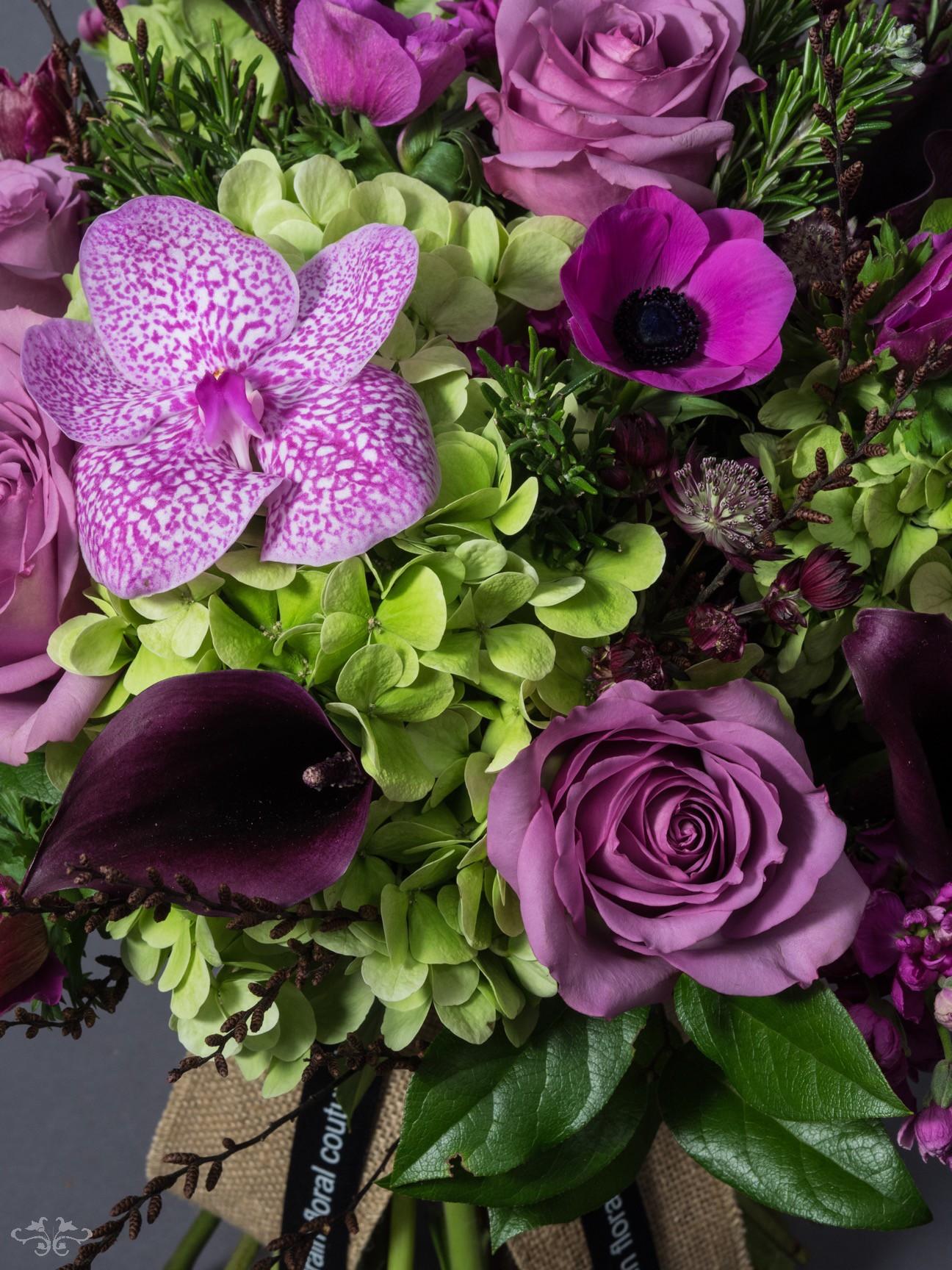 Detail of Neill Strain pink Valentine's bouquet.jpg