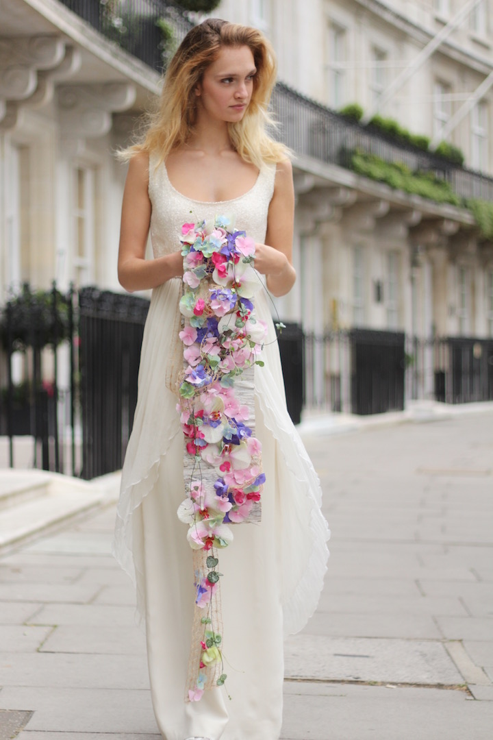 Bespoke bridal bouquets designed by Neill Strain Floral Couture